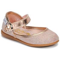 鞋子 女孩 平底鞋 Citrouille et Compagnie JARITO 玫瑰色 / 古銅色