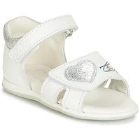 鞋子 女孩 涼鞋 Citrouille et Compagnie JAFALGA 白色