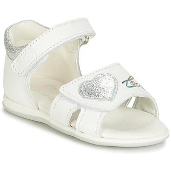 鞋子 女孩 凉鞋 Citrouille et Compagnie JAFALGA 白色