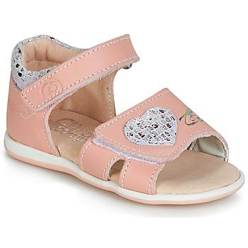 鞋子 女孩 涼鞋 Citrouille et Compagnie JAFALGA 玫瑰色