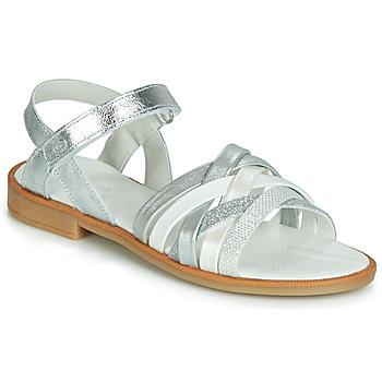 鞋子 女孩 涼鞋 Citrouille et Compagnie JARILOU 銀灰色
