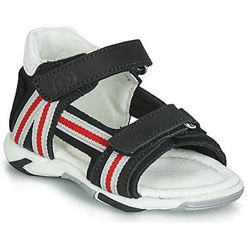 鞋子 男孩 凉鞋 Citrouille et Compagnie JATILETTE 黑色