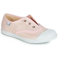 鞋子 女孩 球鞋基本款 Citrouille et Compagnie RIVIALELLE 玫瑰色 / 金属光泽