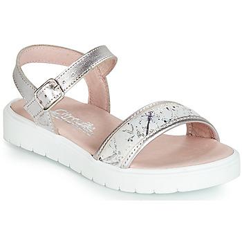 鞋子 女孩 凉鞋 Citrouille et Compagnie JIMINITE 玫瑰色 / Libellule