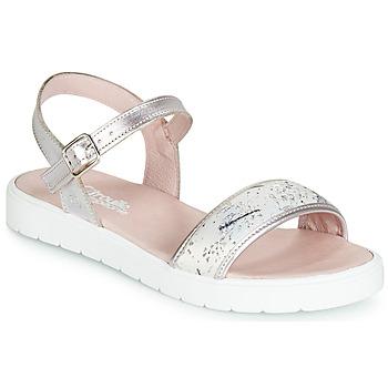 鞋子 女孩 涼鞋 Citrouille et Compagnie JIMINITE 玫瑰色 / Libellule