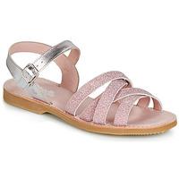 鞋子 女孩 涼鞋 Citrouille et Compagnie JARDINA 玫瑰色