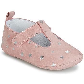 鞋子 女孩 拖鞋 Citrouille et Compagnie JARI 玫瑰色