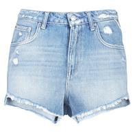 衣服 女士 短裤&百慕大短裤 Replay PABLE 蓝色 / 010