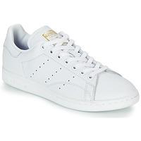 鞋子 女士 球鞋基本款 Adidas Originals 阿迪达斯三叶草 STAN SMITH W 白色