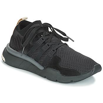 鞋子 男士 球鞋基本款 Adidas Originals 阿迪达斯三叶草 EQT SUPPORT MID ADV 黑色