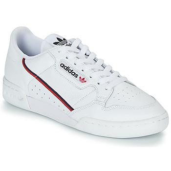 鞋子 球鞋基本款 Adidas Originals 阿迪达斯三叶草 CONTINENTAL 80 白色