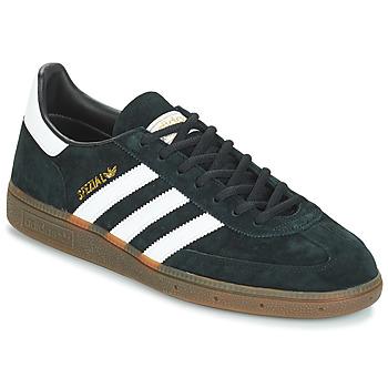 鞋子 男士 球鞋基本款 Adidas Originals 阿迪达斯三叶草 HANDBALL SPZL 黑色