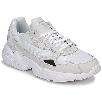 鞋子 女士 球鞋基本款 Adidas Originals 阿迪达斯三叶草 FALCON W 白色