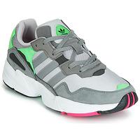 鞋子 男士 球鞋基本款 Adidas Originals 阿迪达斯三叶草 YUNG 96 灰色 / 绿色