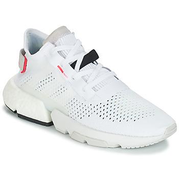 鞋子 男士 球鞋基本款 Adidas Originals 阿迪达斯三叶草 P.O.D 白色