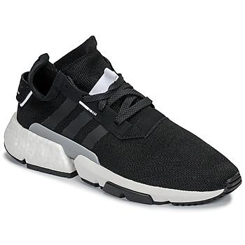 鞋子 男士 球鞋基本款 Adidas Originals 阿迪达斯三叶草 P.O.D 黑色