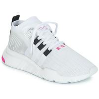 鞋子 男士 球鞋基本款 Adidas Originals 阿迪达斯三叶草 EQT SUPPORT MID ADV 白色
