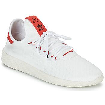 鞋子 球鞋基本款 Adidas Originals 阿迪达斯三叶草 PW TENNIS HU 白色 / 红色