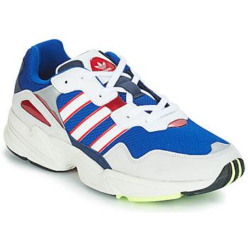 鞋子 男士 球鞋基本款 Adidas Originals 阿迪达斯三叶草 YUNG 96 白色 / 紫罗兰