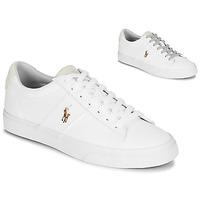 鞋子 男士 球鞋基本款 Polo Ralph Lauren SAYER 白色