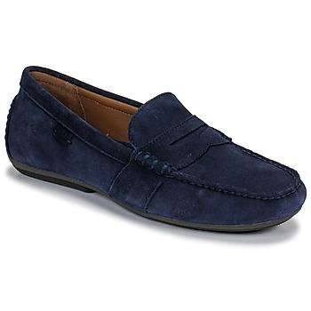 鞋子 男士 皮便鞋 Polo Ralph Lauren REYNOLD 海藍色