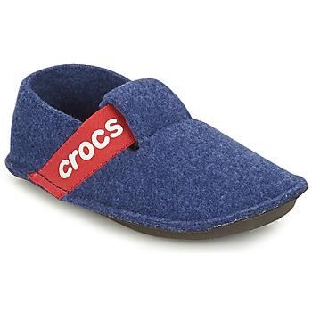 鞋子 儿童 拖鞋 crocs 卡骆驰 CLASSIC SLIPPER K 蓝色