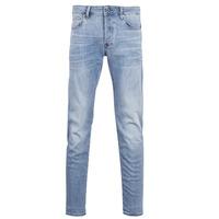 衣服 男士 紧身牛仔裤 G-Star Raw 3302 SLIM 蓝色 / 紫兰色