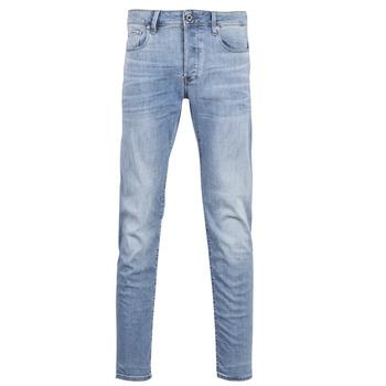 衣服 男士 緊身牛仔褲 G-Star Raw 3302 SLIM 藍色 / 紫蘭色