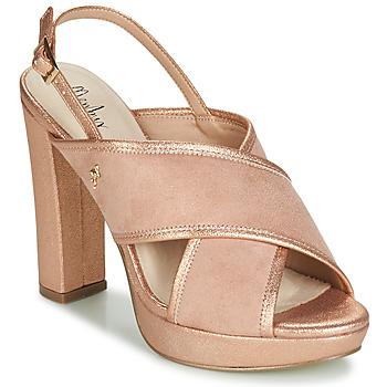 鞋子 女士 涼鞋 Menbur VILLALBA 玫瑰色 / 金色