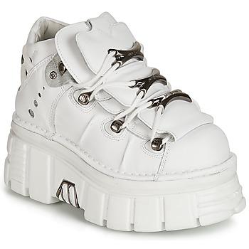鞋子 女士 短筒靴 New Rock ROCKY 白色