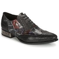 鞋子 男士 系带短筒靴 New Rock SALSO 黑色