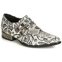 鞋子 男士 系带短筒靴 New Rock SALSO 黑色 / 白色
