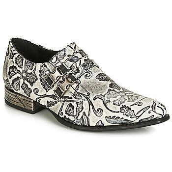 鞋子 男士 系帶短筒靴 New Rock SALSO 黑色 / 白色