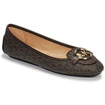 鞋子 女士 平底鞋 Michael by Michael Kors LILLIE MOC 棕色