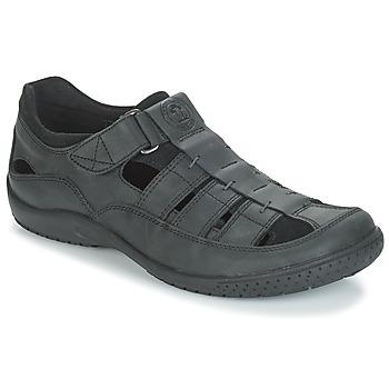 鞋子 男士 凉鞋 Panama Jack 巴拿马 杰克 MERIDIAN 黑色