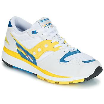鞋子 男士 球鞋基本款 Saucony Azura 白色 / 黄色 / 蓝色