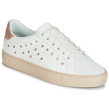 鞋子 女士 球鞋基本款 Esprit 埃斯普利 Colette Star LU 白色 / 玫瑰色 / 金色