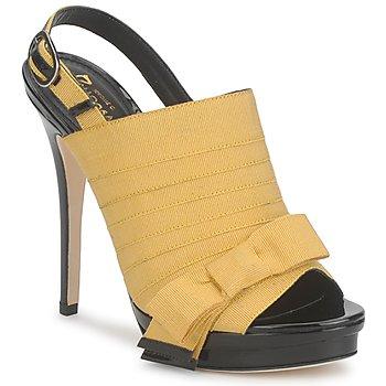 鞋子 女士 凉鞋 Jerome C. Rousseau ROXY 黄色 / 黑色
