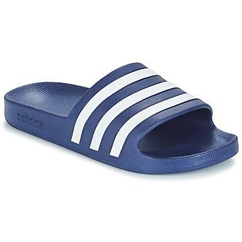 鞋子 拖鞋 Adidas Originals 阿迪达斯三叶草 ADILETTE AQUA 蓝色