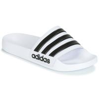 鞋子 拖鞋 adidas Performance 阿迪达斯运动训练 ADILETTE SHOWER 白色 / 黑色