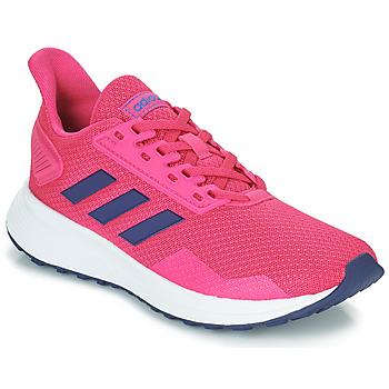鞋子 儿童 球鞋基本款 adidas Performance 阿迪达斯运动训练 DURAMO 9 K 玫瑰色