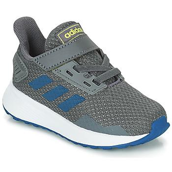 鞋子 男孩 跑鞋 adidas Performance 阿迪达斯运动训练 DURAMO 9 I 灰色