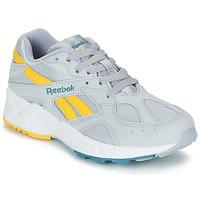 鞋子 男士 球鞋基本款 Reebok Classic AZTREK 灰色 / 黄色