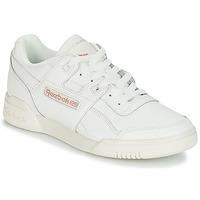鞋子 女士 球鞋基本款 Reebok Classic WORKOUT LO PLUS 白色