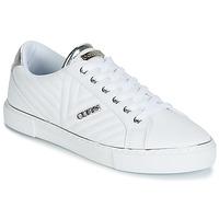 鞋子 女士 球鞋基本款 Guess GROOVIE 白色