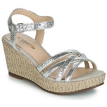鞋子 女士 凉鞋 JB Martin DAME 银灰色