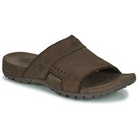 鞋子 男士 休闲凉拖/沙滩鞋 Merrell 迈乐 SANDSPUR LEE SLIDE 棕色