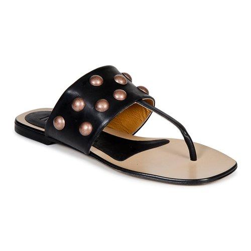 鞋子 女士 人字拖 Keyté DELLIA 黑色