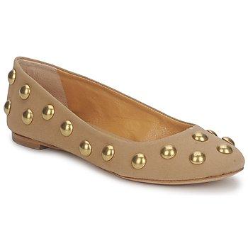 鞋子 女士 平底鞋 Keyté CANDY TESSU 米色