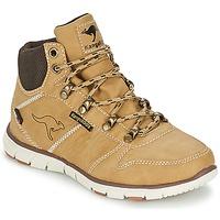 鞋子 男孩 短筒靴 Kangaroos BLUERUN 2098 米色